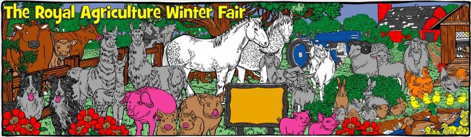Farm Animals and Horses - 1510