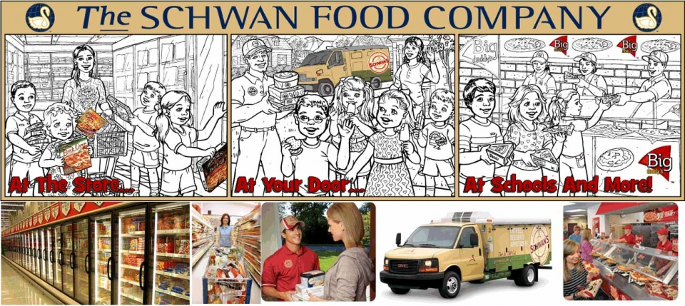 Example of New Illustration--Schwan Food Company - 5006