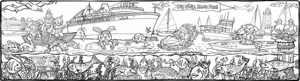 SS Badger (Ferry across Lake Michigan) - 1460
