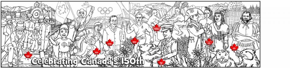 Celebrate Canada's 150th - 3340