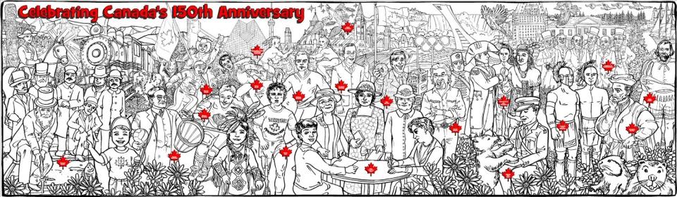 Canada's 150th Anniversary - 1703